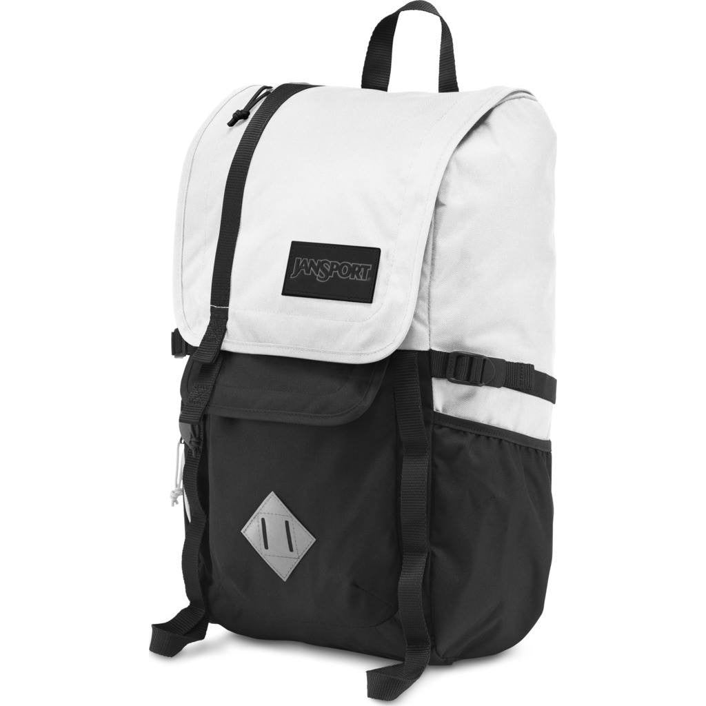 Jansport Hatchet Backpack | White/Black T52SWHX