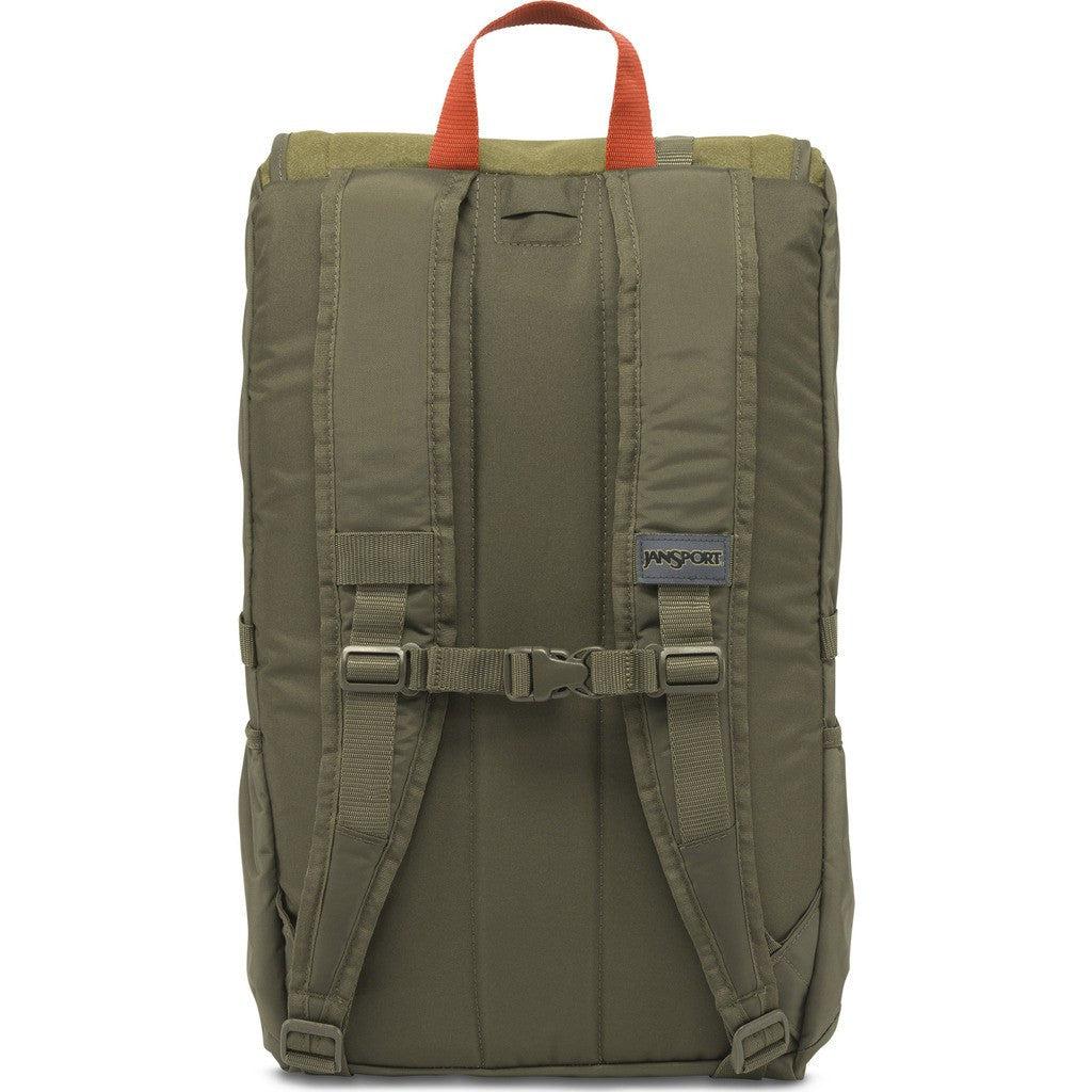 Jansport Hatchet Special Edition Backpack | Army Green Felt 2T2Z0NB