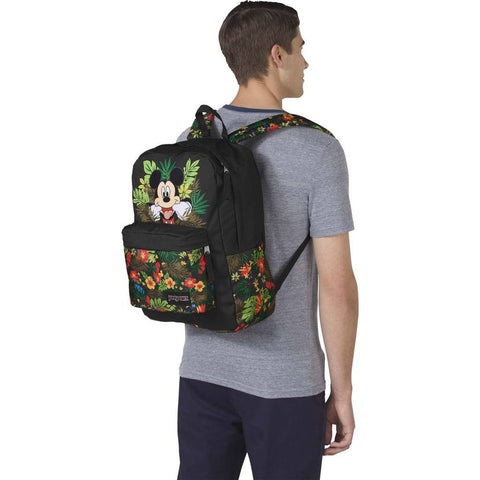 Jansport Disney High Stakes Backpack | Disney Tropical Mickey-JS0132TH38S