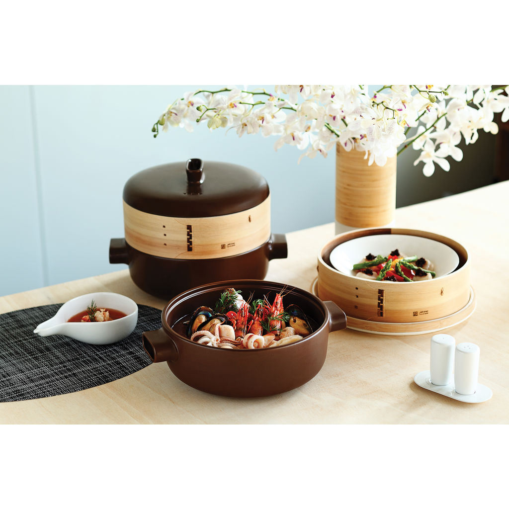 JIA Inc Extra Large Steamer Set- JST310
