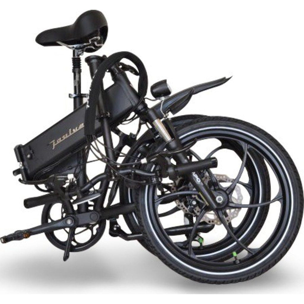 Joulvert Stealth Folding Electric Bicycle | Matte Black JT00A-20