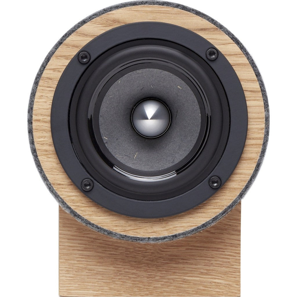 Well Rounded Sound Jack Terrier 2 Speaker Set | Oak/Dark Gray JT2 O/DG