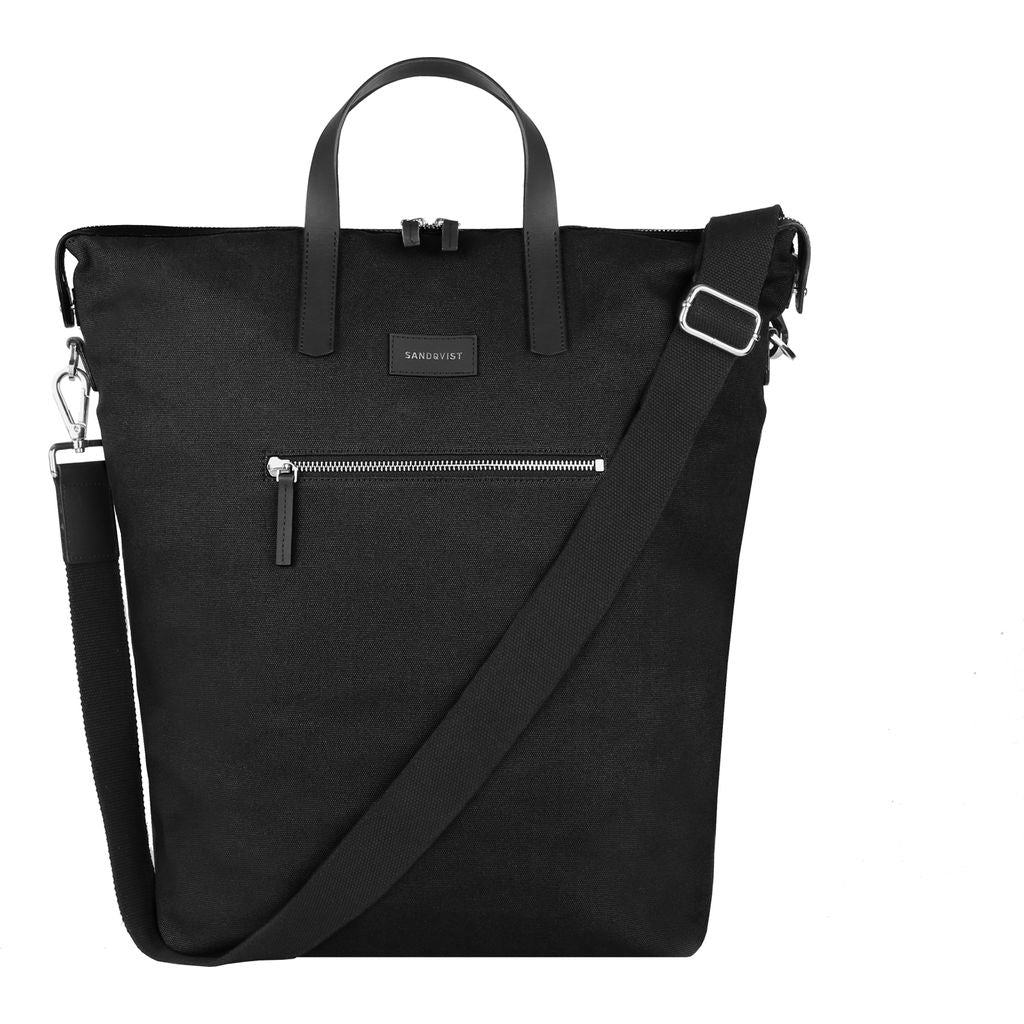 Sandqvist Jussi Tote Bag | Black