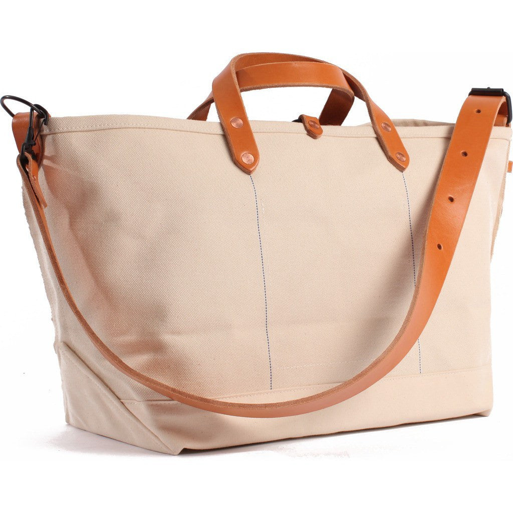 Joshu+Vela Medium Boat Tote | Natural Canvas JV0450-NATURAL