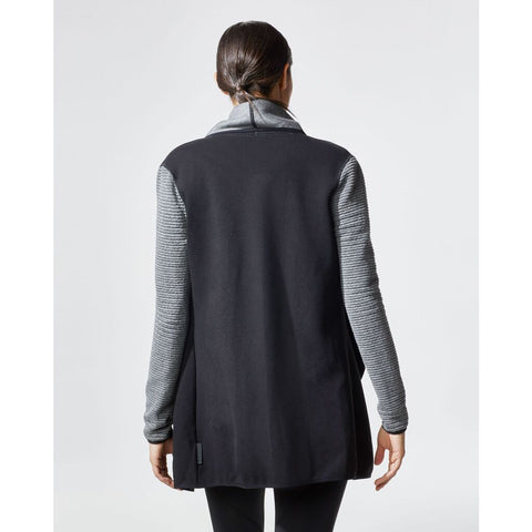Michi Dusk Wrap Jacket | Grey/Black