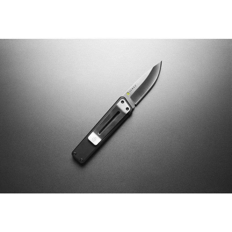 James Knives The Chapter Knife | Black/Stainless Straight