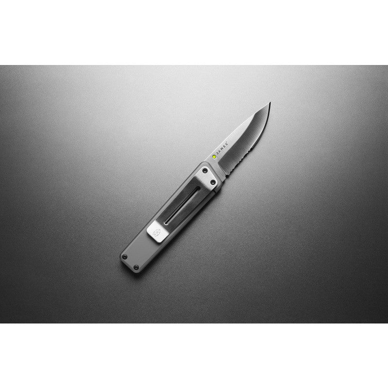James Knives The Chapter Knife | Titanium/Stainless Serrated