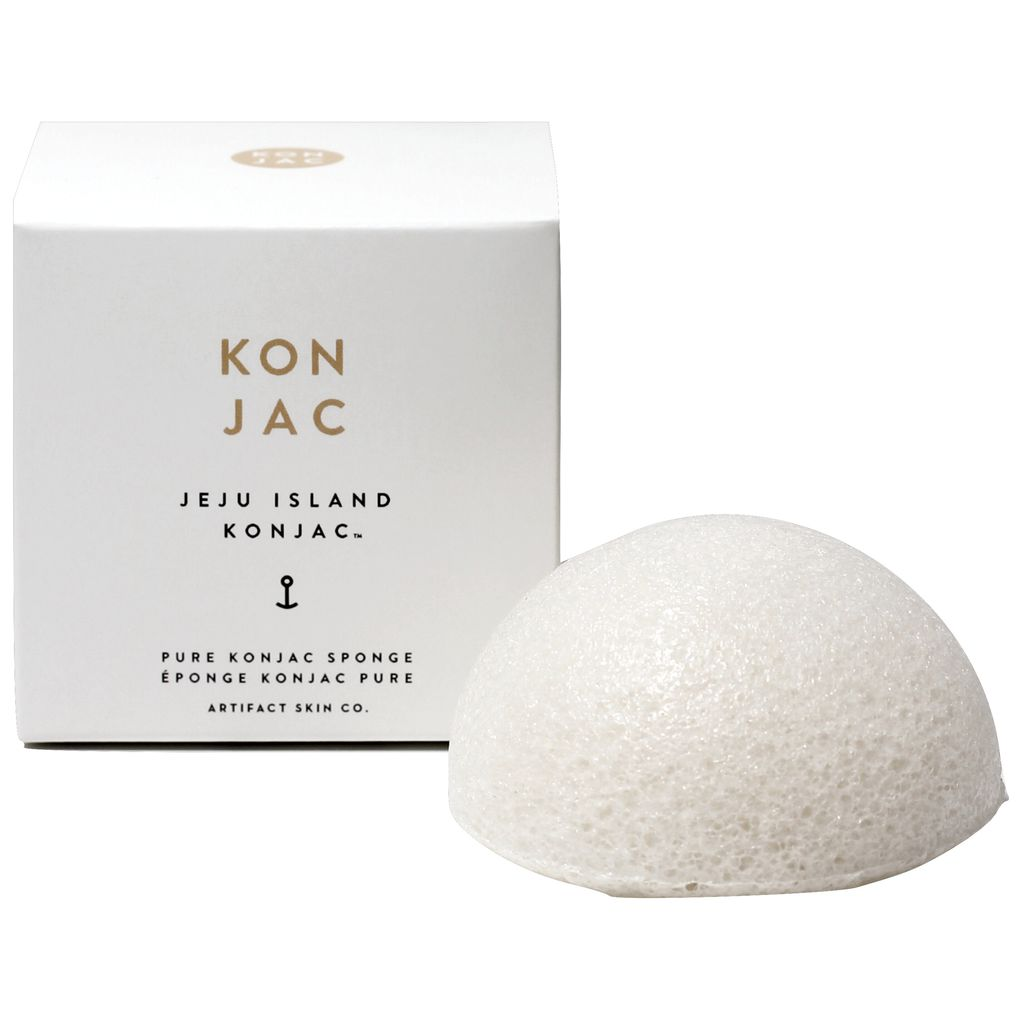 Artifact Skin Co. Jeju Island Konjac Facial Sponge | Pure JI-PKS