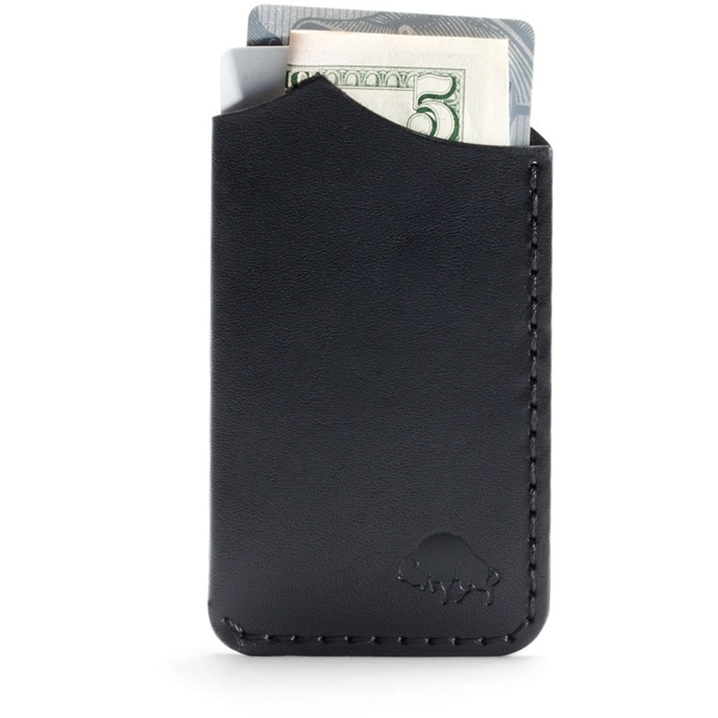 Ezra Arthur No. 1 Wallet | Jet Black CW111