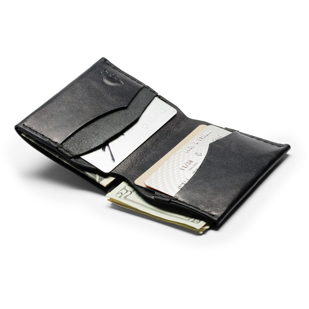 Ezra Arthur No. 4 Wallet | Jet Black CW411