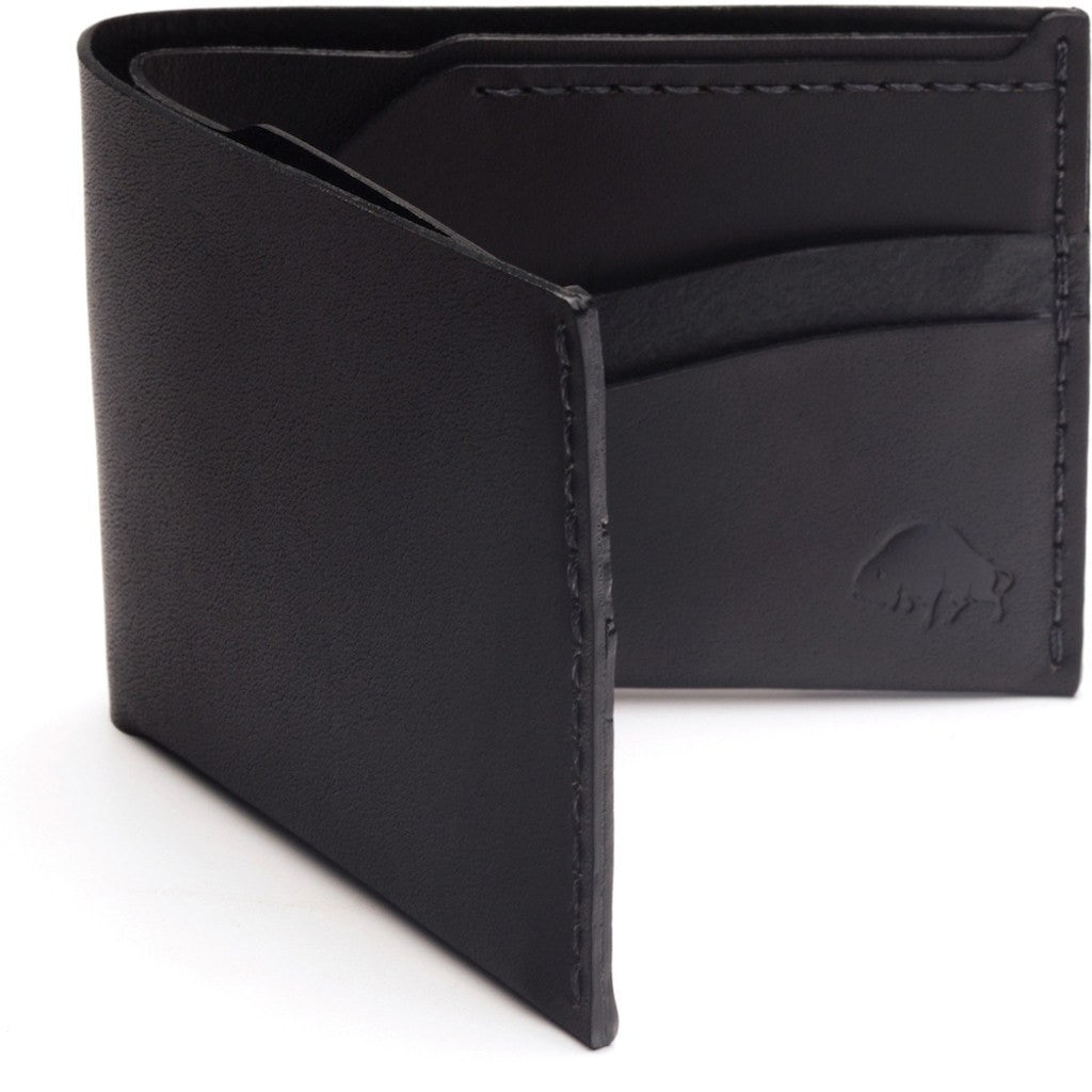Ezra Arthur No. 6 Wallet | Jet Black CW611