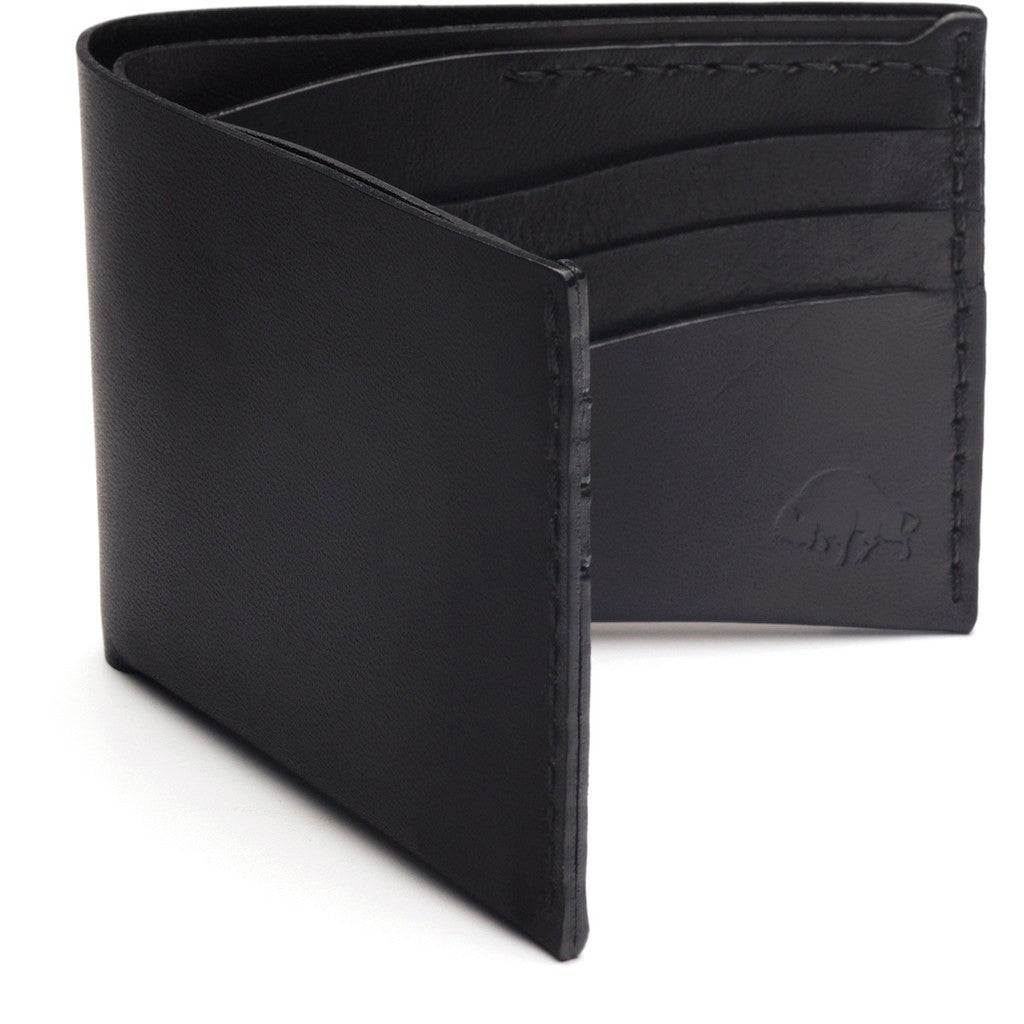 Ezra Arthur No. 8 Wallet | Jet Black CW811