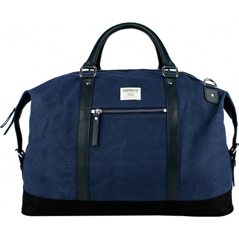 Sandqvist Jordan Weekend Bag | Waxed Blue SQA665