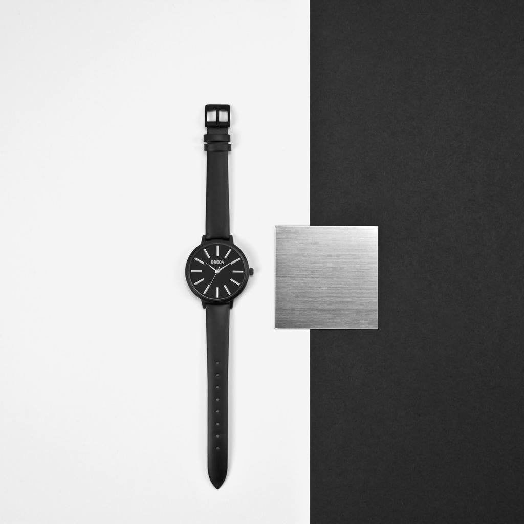Breda Watches Joule Watch | Black/Black 1722e