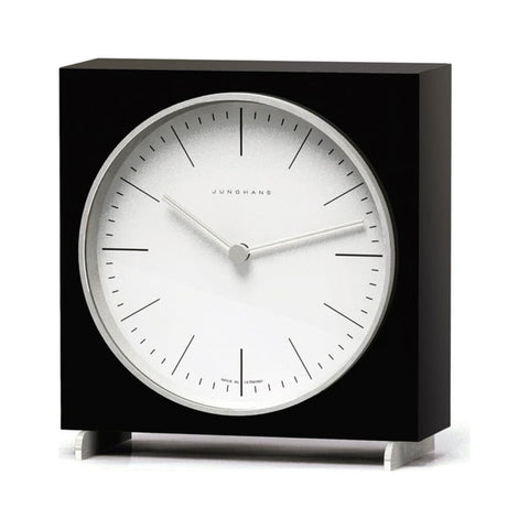 Junghans Max Bill Quartz Table Clock | Index/Arabic