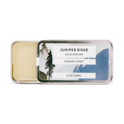 Juniper Ridge Solid Perfume | Cascade Forest SP110