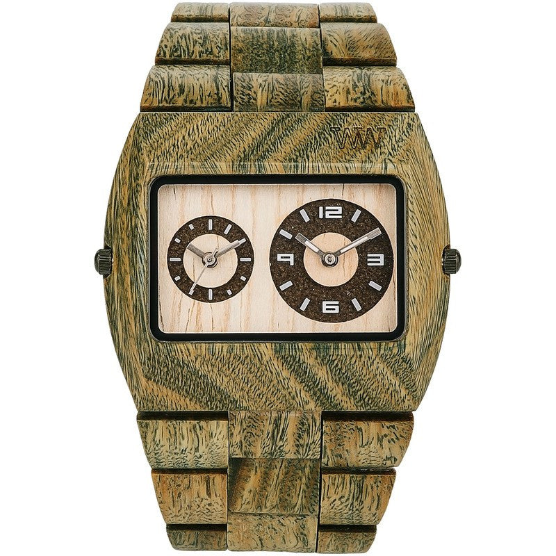 WeWood Jupiter Guaiaco Wood Watch | Army