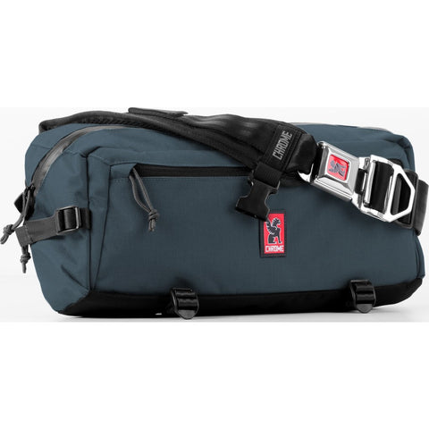 Chrome Nylon Kadet Messenger Bag | Sea/Indigo BG-196-SE