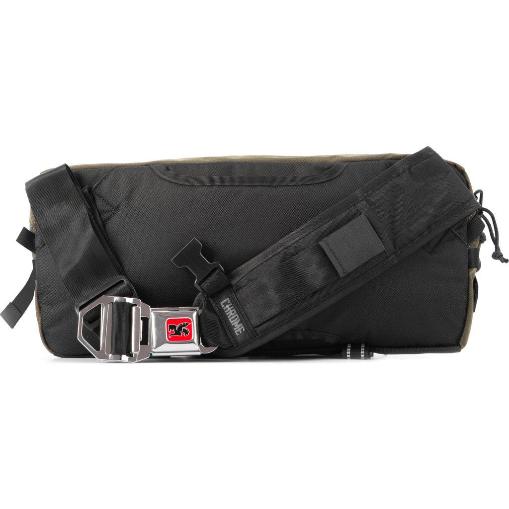 Chrome Kadet Nylon Messenger Bag | Brown/Black BG-196 MLBK