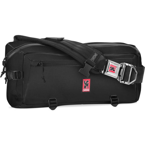 Chrome Kadet Nylon Messenger Bag | Black