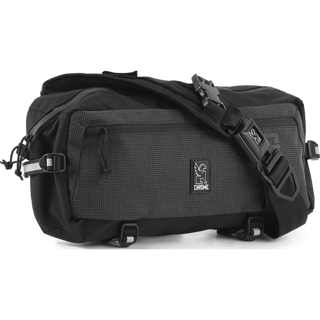 Chrome Kadet Nylon Messenger Bag | Night BG-196 NITE