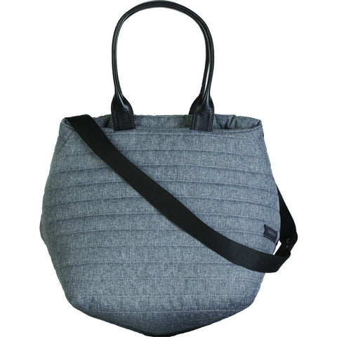 Cote&Ciel Kalix Medium Quilted Eco Yarn Tote Bag | Cloud Grey 28328