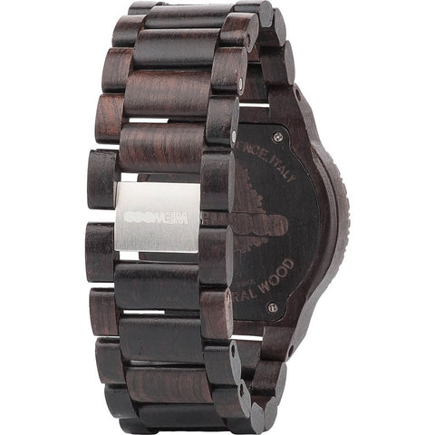 WeWood Kappa Blackwood Watch | Black/Orange Wkblor
