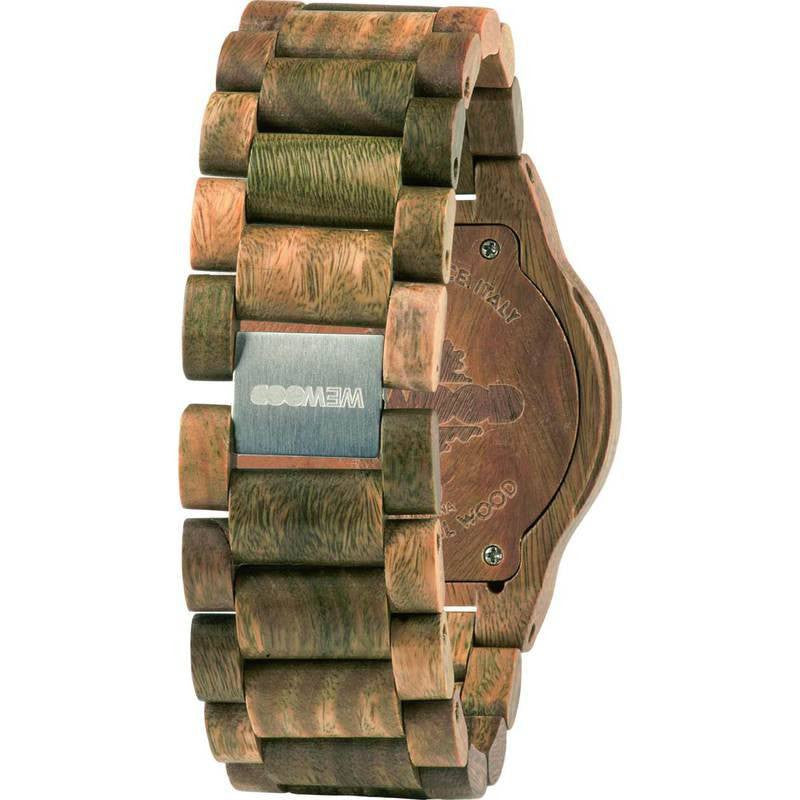 WeWood Kardo Guaiaco Wood Watch | Army