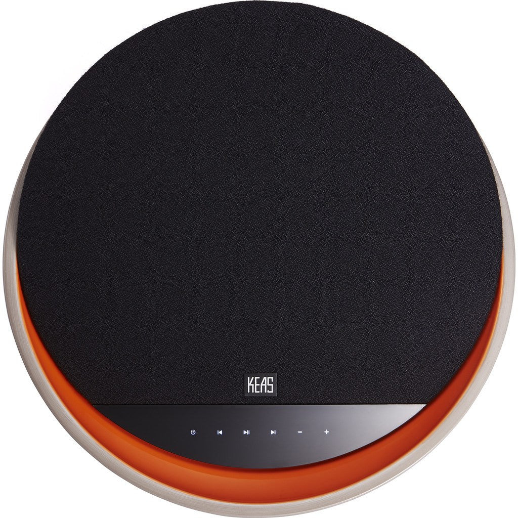 KEAS mov1 Ceramic Speaker | Orange/Gray KEAS MOV 1 BT-OG