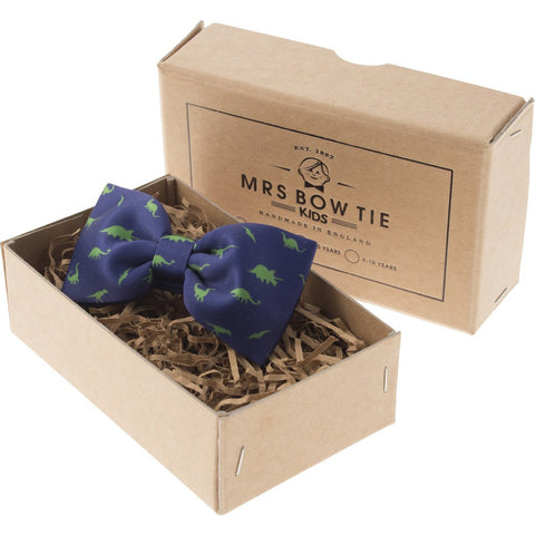 Mrs Bow Tie Dinosaurs Junior Ready-Tied Bow Tie | 0-5 Years KIDS197