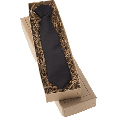 Mrs Bow Tie Satin Junior Ready-Tied Tie | Black 2-5 Years KIDS257NT
