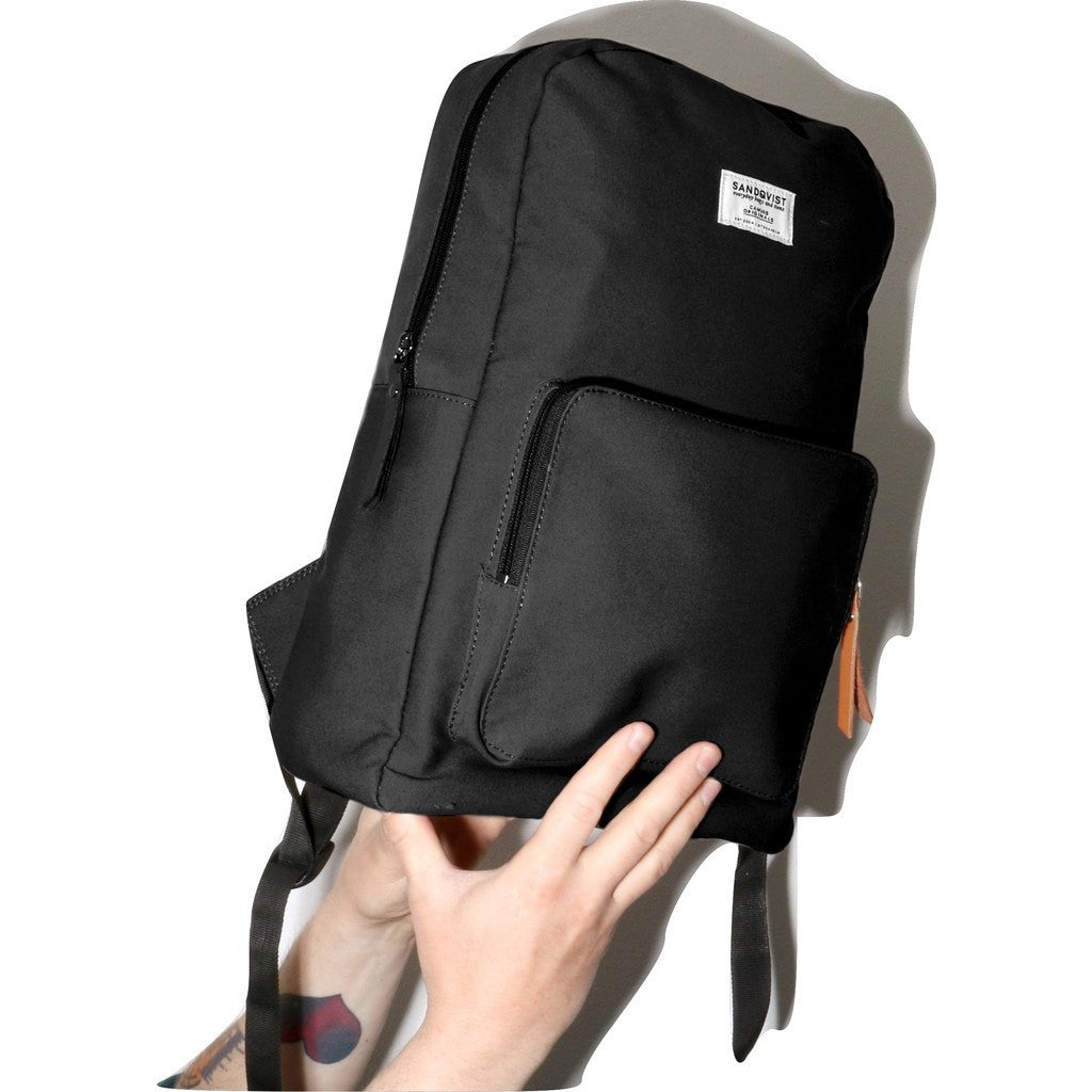 Sandqvist Kim Ground Backpack | Black SQA527