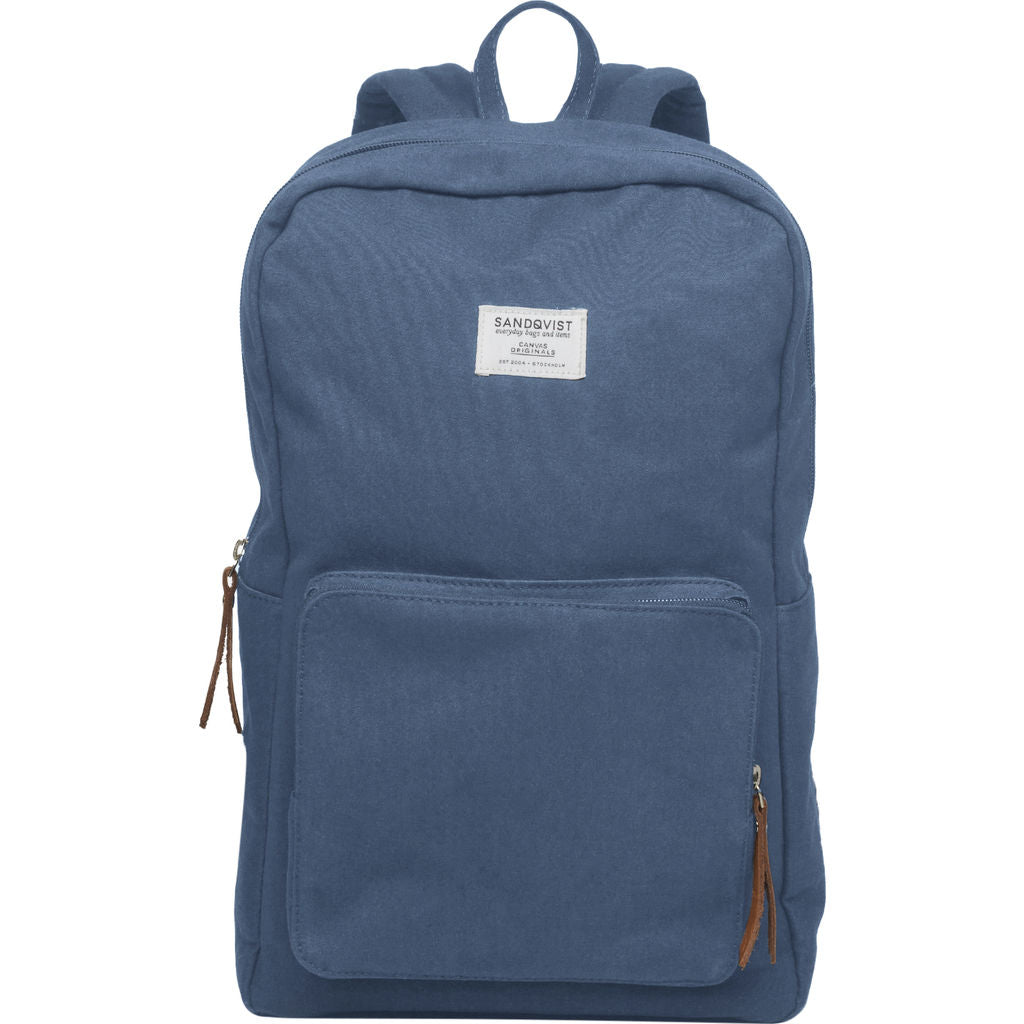 Sandqvist Kim Backpack | Dusty Blue