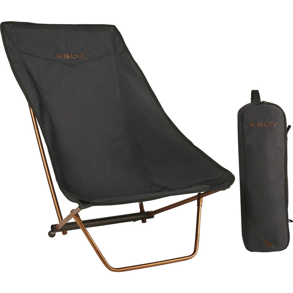 Kelty Linger Get-Down Chair Heather | Black/Ano Copper
