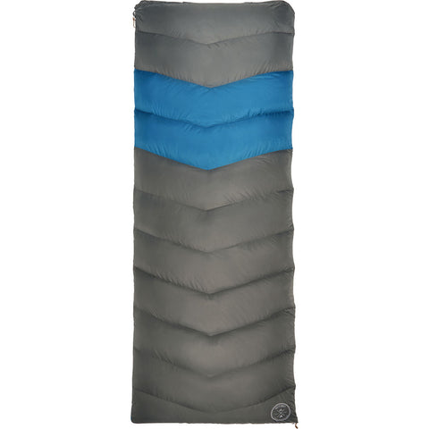 Kelty Galactic 30 Dridown Long Sleeping Bag | Gray/Blue