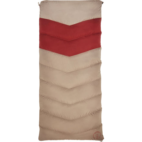 Kelty Galactic 30 Dridown Womens Regular Sleeping Bag | Red/Gold