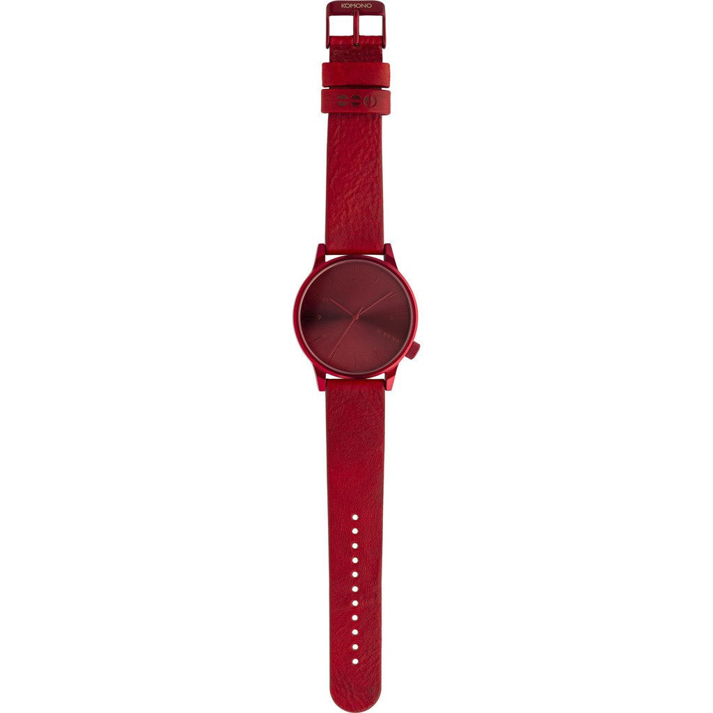 Komono Winston Regal Watch | All Red KOM-W2267