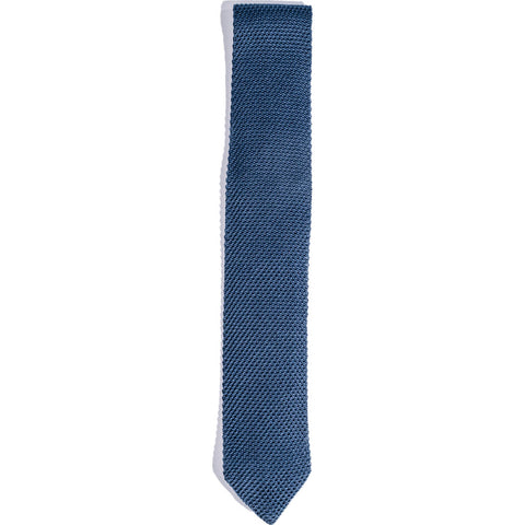 Hook & Albert Knit Tie | Blue