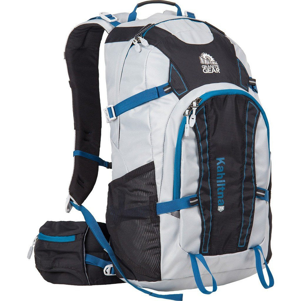 Granite Gear Kahiltna 29 Technical Day Pack | Chromium/Black/Bleumine 614200-0003