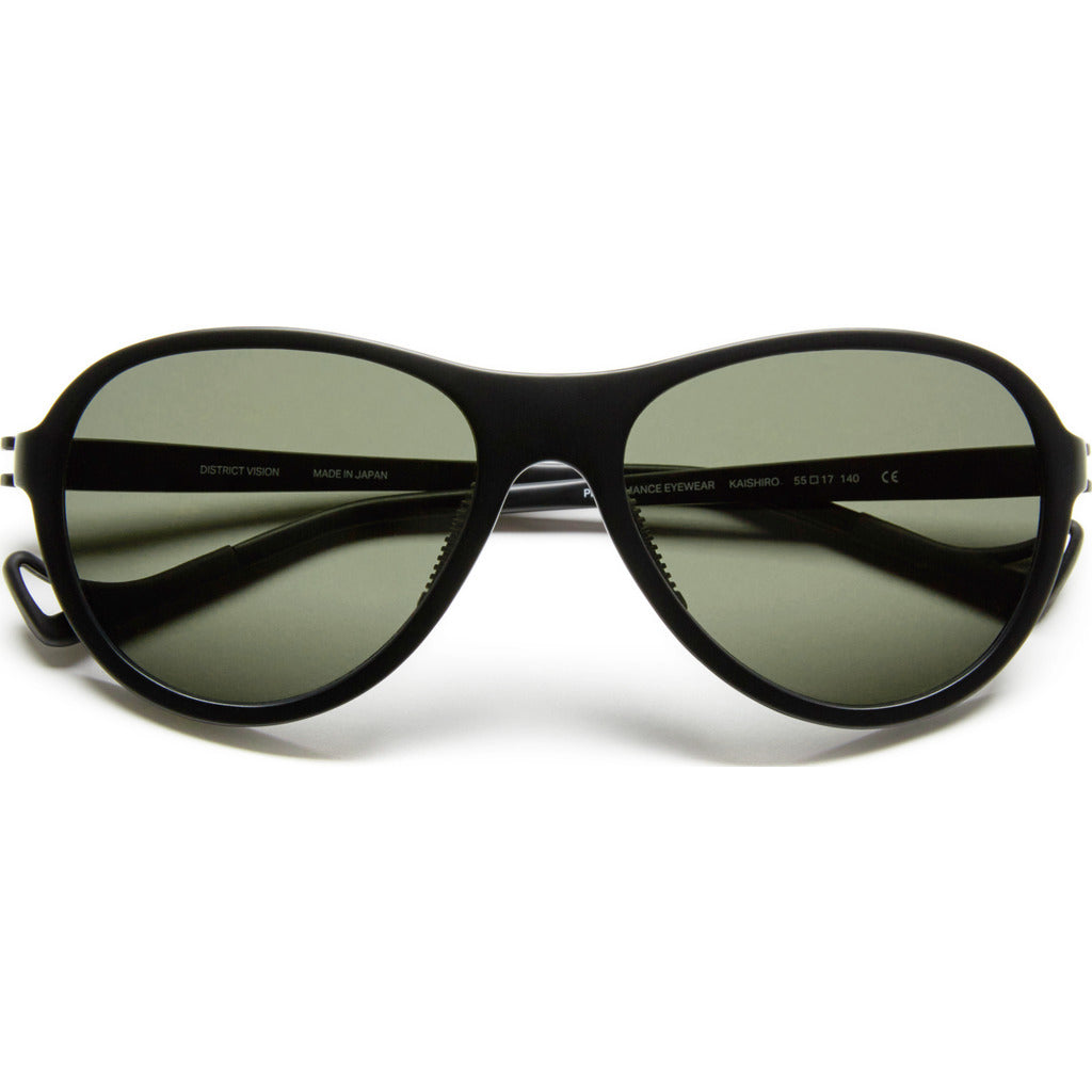 District Vision Explorer Kaishiro Black Sunglasses | District Sky G15