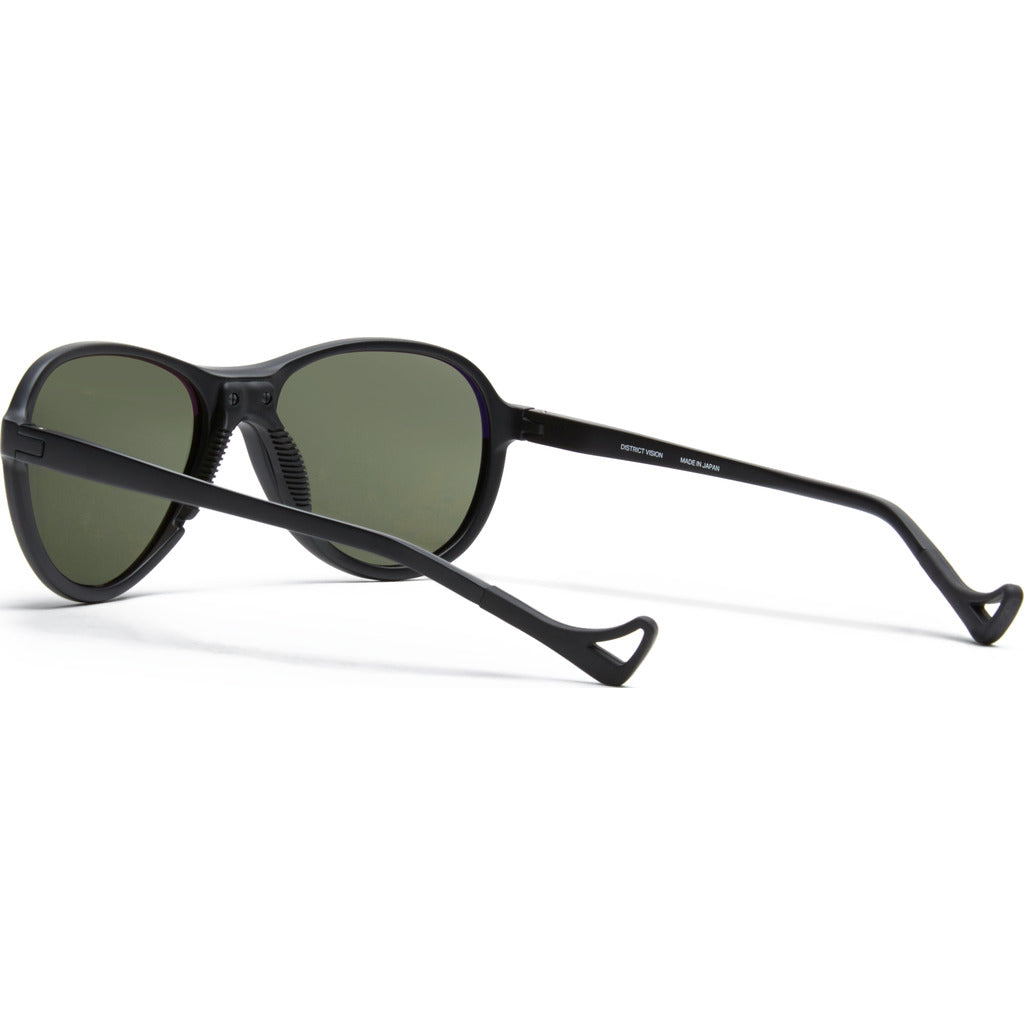 District Vision Explorer Kaishiro Black Sunglasses | District Sky G17