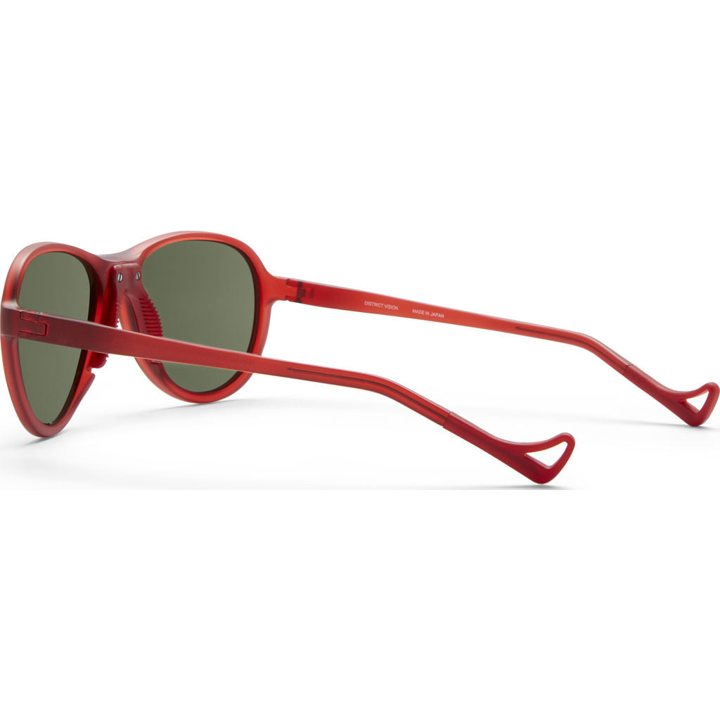 District Vision Explorer Kaishiro Red Sunglasses | District Sky G16