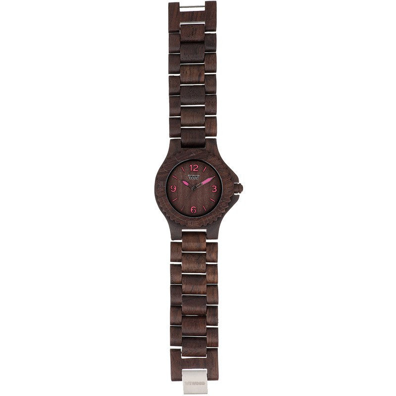 WeWood Kale Rosewood Wood Watch | Choco-Pink