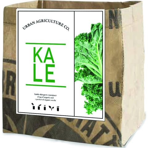 Urban Agriculture Organic Vegetable Grow Kit | Kale 30307