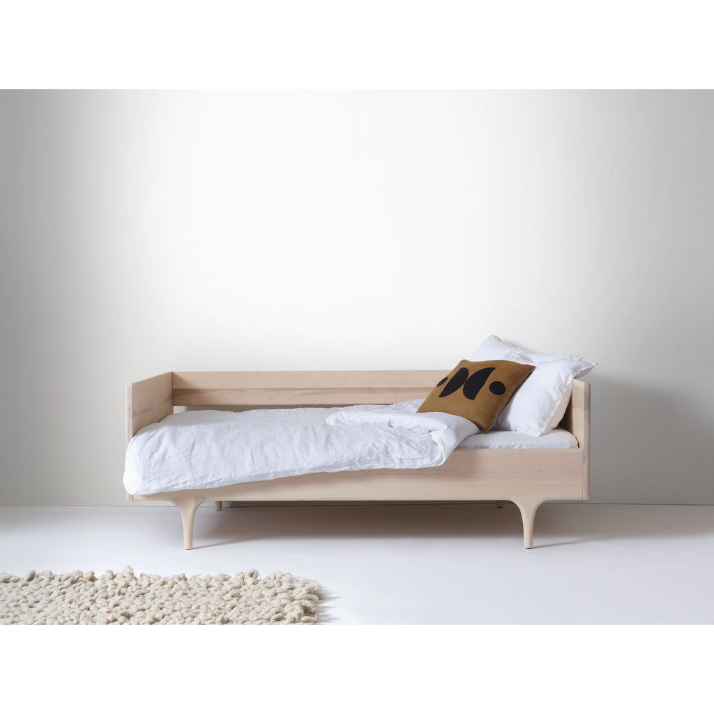 Kalon Divan Twin Wood Bed Frame | Oiled
