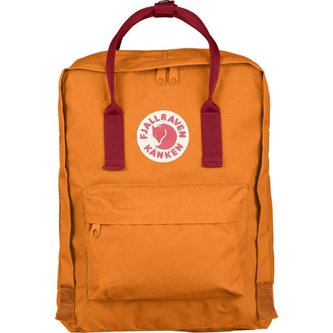 Fjällräven Kånken Backpack | Burnt Orange/Deep Red