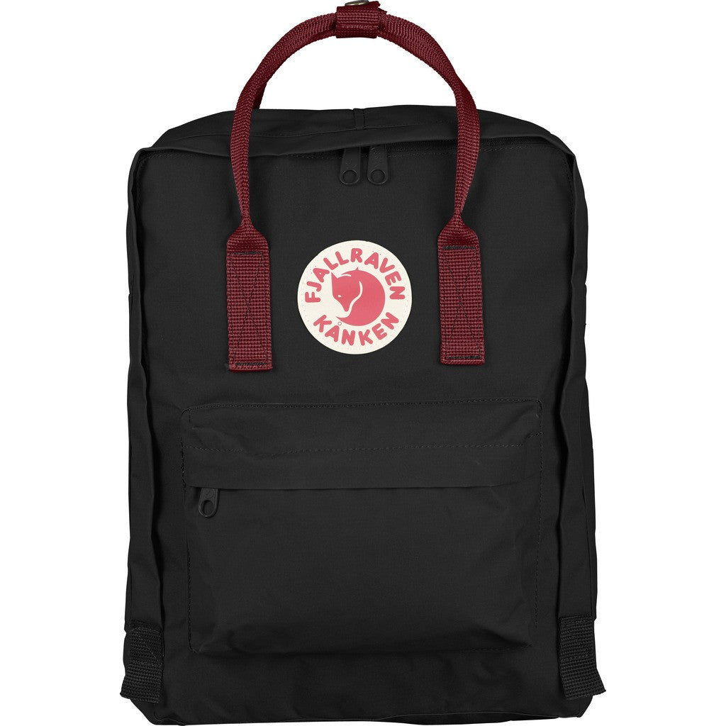 Fjallraven Kanken Backpack | Black-Ox Red F23510-550-326