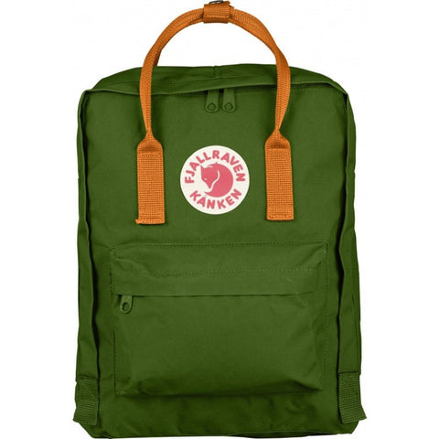 Fjallraven Kanken Backpack | Leaf Green/Burnt Orange F23510-615-212