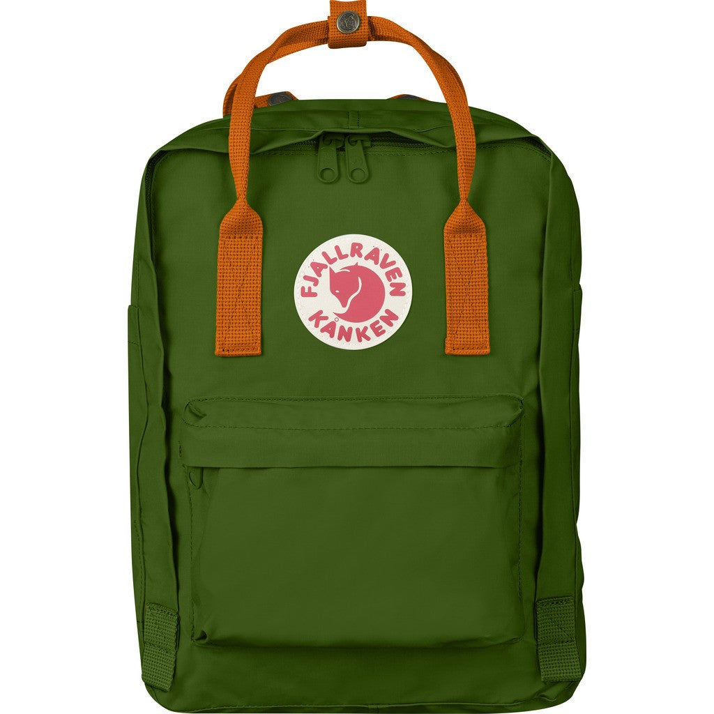 Fjallraven Kanken 13 Backpack | Leaf Green - Burnt Orange F27171-615-212