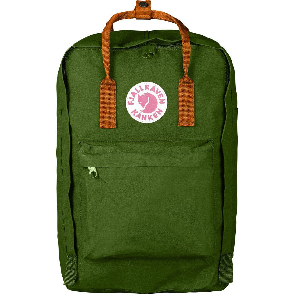 Fjallraven Kanken 17 Backpack | Leaf Green - Burnt Orange F27173-615-212